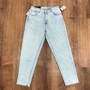 NWT DL1961 Goldie High Rise Tapered Jeans
